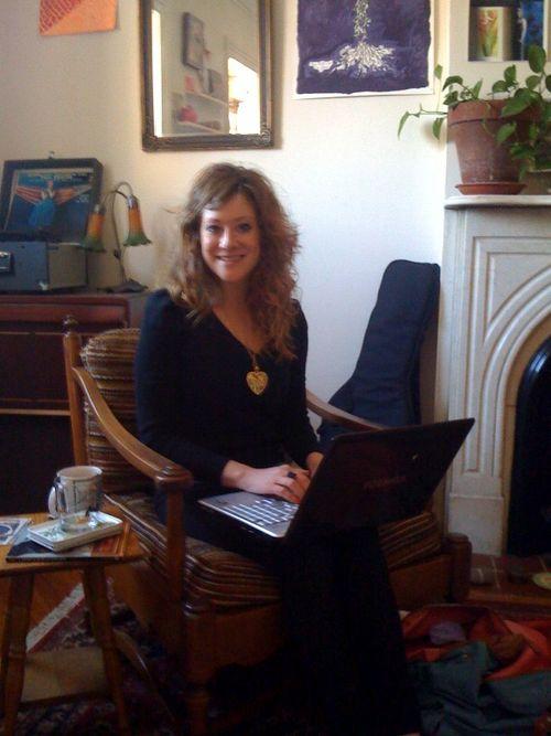Amy Blogging 2