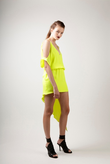 Mason Neon Side Cut Dress