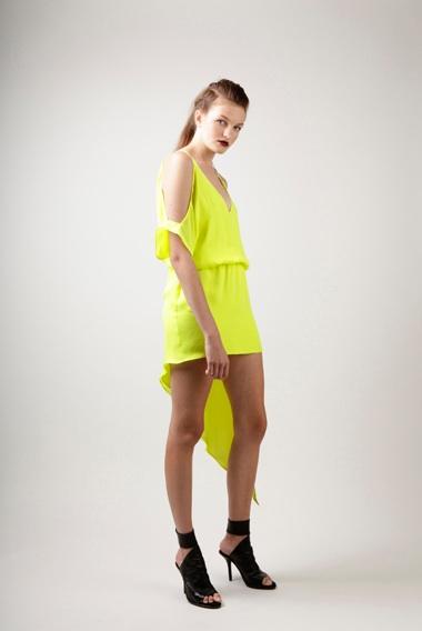 Mason Neon Side Cut Dress