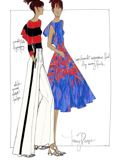 TracyReese_SS14_Sketch